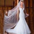 Mermaid Wedding Dresses vestido de noiva manga longa 2017 Backless Sweetheart Sleeveless White Long Bride Gowns robe de mariage