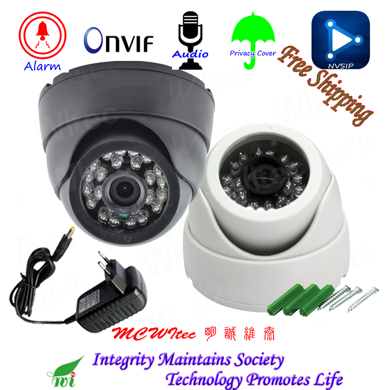Audio HD 1080P Shell Indoor IP Camera Security ONVIF IR Cut Night View IP Cam Motion Alarm RTSP Privacy Cover Dome CCTV Network full hd ip camera 5mp with sound dome camera ip cam cctv home security cameras with audio indoor cameras onvif p2p