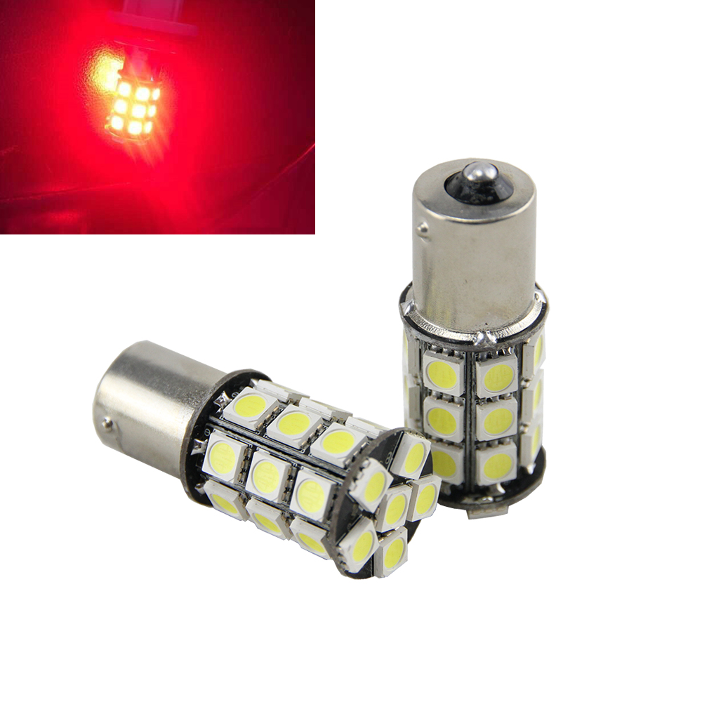 2x 1156 Ba15s 1141 1003 7506 27 Smd Led Replacement Bulb For Car Interior Rv Camper Turn Backup