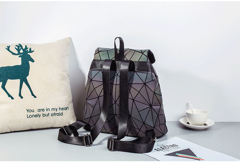 HTB1awd8aECF3KVjSZJnq6znHFXat Bao Women Backpack Luminous Drawstring Female Daily Backpack Geometry Backpacks Folding School Bags For Teenage Girls Mochila