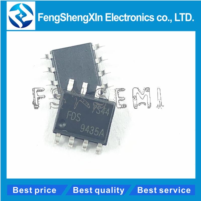 10 PCS FDS9435A SOP-8 FDS9435 9435A Single P-Channel Enhancement Mode Mosfet NEW