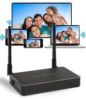 Full HD1080P Wireless WiFi Display Receiver HDMI TV BOX Media Player VGA AV DLNA Miracast Airplay
