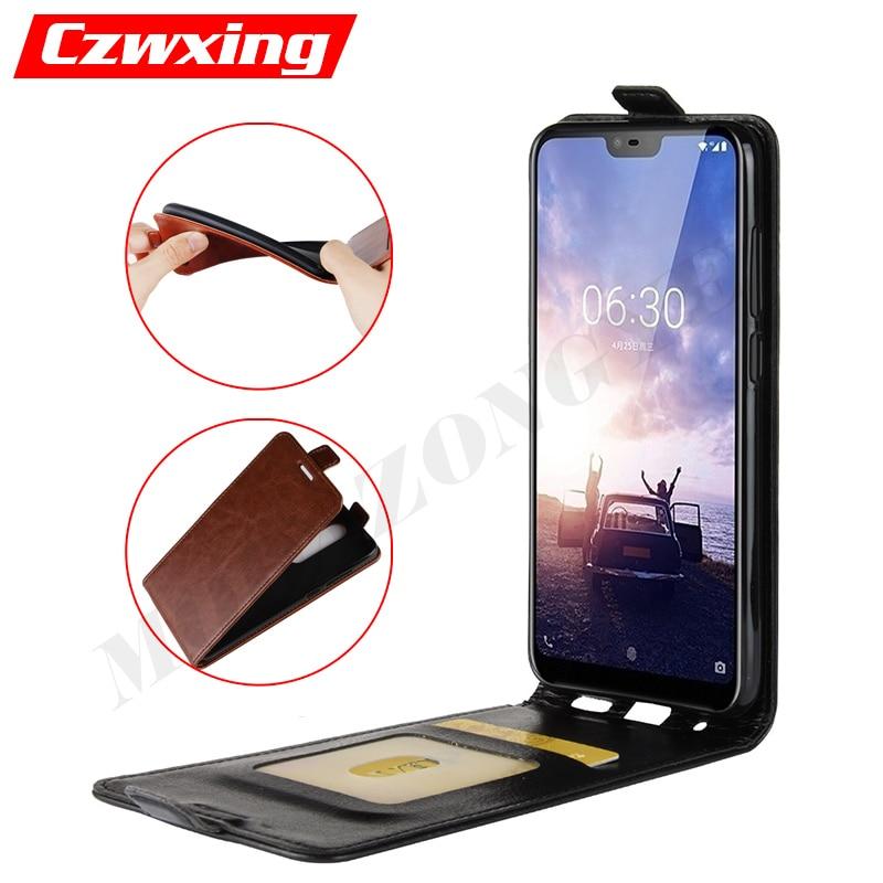 Nokia 5.1 Plus Case Flip Cover PU Leather Phone Case For Nokia 5.1 Plus TA-1105 TA-1108 TA-1120 TA-1112 Nokia 5.1Plus Case Cover