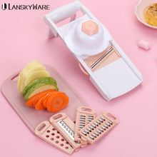 Vegetable Cutter With Stainless Steel Blade Mandoline Slicer Potato Peeler Carrot Cheese Grater Slicer Kitchen Accessories multifunctional mandoline slicer manual drum vegetable shredder potato julienne carrot cheese grater round stainless steel blade