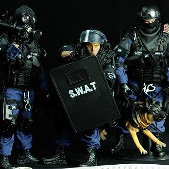 1/6 soldat modèle costume SWAT forces spéciales adulte militaire modèle mâle militaire cadeau