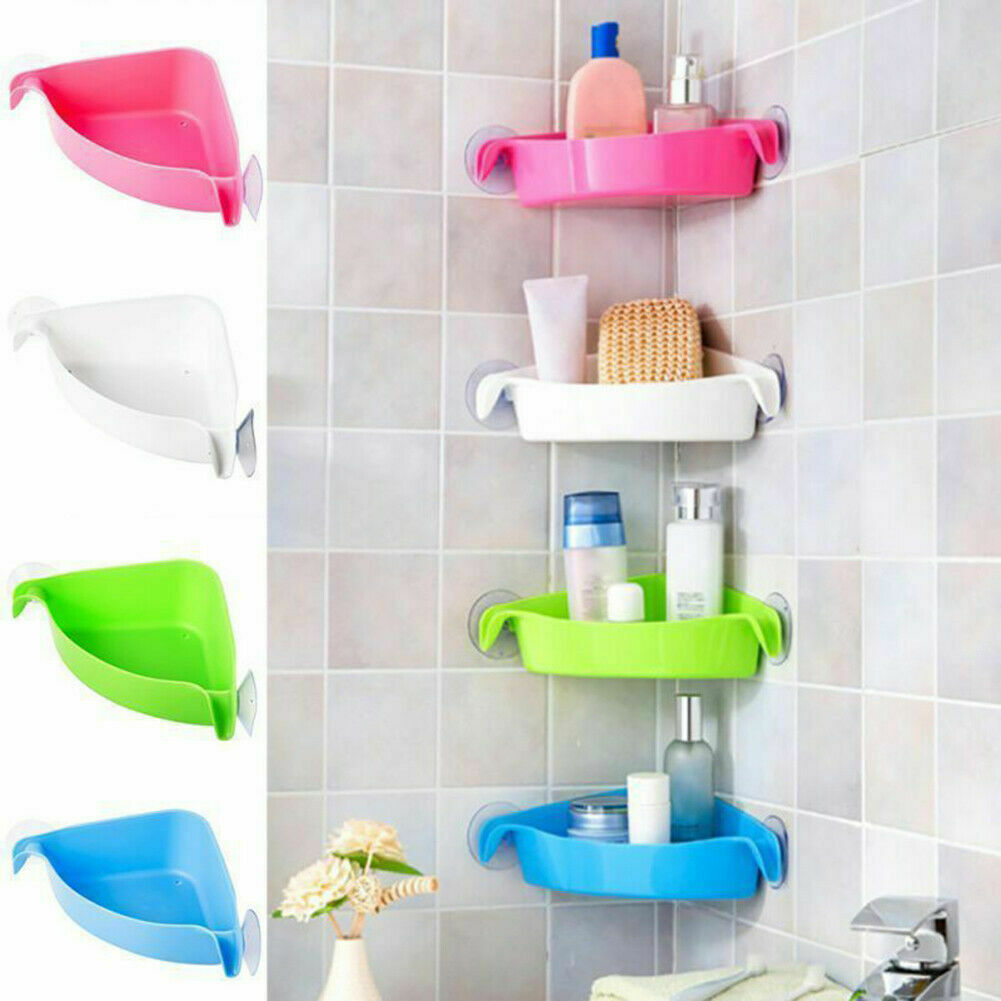 Bathroom Storage Basket, Plastic Shelves For Bathroom