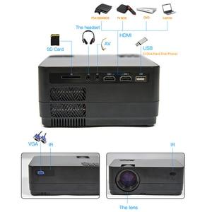 Image 4 - 최신 HQ3 WiFi 프로젝터 비디오 프로젝터 Everycom HQ2 3000 Lumi HD 1280*720P LED 홈 시어터 영화 비머 Proyector Portatil