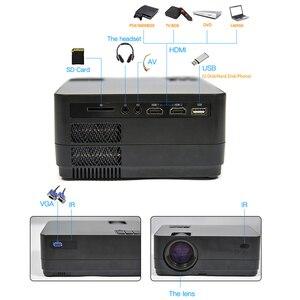 Image 4 - Новейший HQ3 WiFi проектор видео проектор Everycom HQ2 3000 Lumi HD 1280*720P светодиодный проектор для домашнего кинотеатра