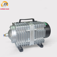 Portable Air Pump 220V 240V ACO318 35W 45W ACO 308 High Fish Tank Oxygen Compressor Aquarium Pond