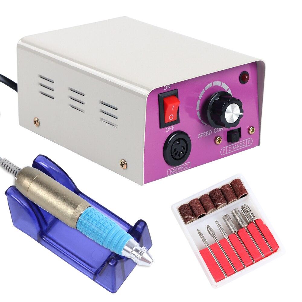 1 компл. сверло для ногтей электрическая машина для маникюра Professional power Apparatus для фрезерных резаков педикюр для ногтей машина TR021