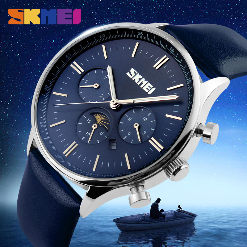 Watches Men Luxury Top Brand SKMEI New Fashion Men Big Dial Designer Quartz Watch Male Wristwatch Relogio Masculino Relojes 9117 carnival watches men luxury top brand new fashion men s big dial designer quartz watch male wristwatch relogio masculino relojes page 3