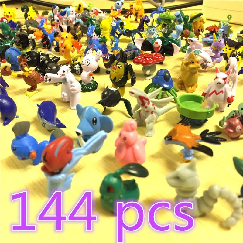 Wholesale 144pcs/lot anime Pikachu figures Eevee Espeon Umbreon Glaceon Vaporeon mini Styles PVC Pikachu Action Figures 2-3cm 48pcs lots kids toys pokeball action figures pikachu anime pokeball toys mixed 2 3cm mini random mini figurine toys for children