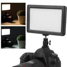 160 LED Studio Video Light Mini Photo Studio Camera Light Photographic Lighting LED Lamp 6000K for Canon DV Camcorder