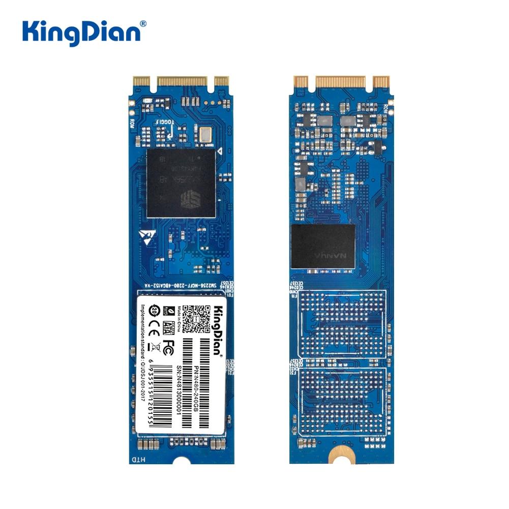 KingDian M.2 2280 SSD de 120gb 240gb 512gb M.2 NGFF SSD SATA Hard Disk Drive de Estado Sólido Interno para Laptop