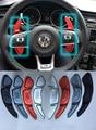 Aluminio volante DSG paddle cambiadores para VW volkswagen GOLF 7 2015 Paddle Accesorios Del Coche Caja de Cambios