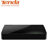 Tenda SG108 Ethernet Network Switchs 8 Gigabit 10/100/1000Mbps RJ45 Port Desktop SOHO Switch 1.6Gbps Capacity plug and play