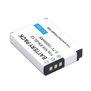 Image 1 - 1500mAh EN EL12 EN EL12 Batterie pour Nikon CoolPix S610 S610c S620 S630 S710 S1000pj P300 P310 P330 S6200 S6300 S9400 S9500 S9200