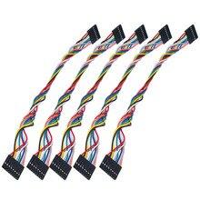 Бесплатная доставка! Высокое качество 10 шт./лот 8pin F-F Dupont линия/Dupont кабель 2.54 Long20cm