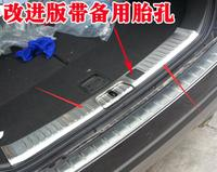 car styling case For Chevrolet Captiva 2015 Stainless Inner Boot Cargo Lip Rear Bumper Protector car styling