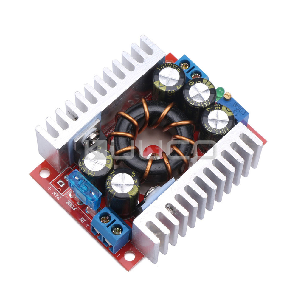 Power Supply Module/Adapter DC 4~32V to 1.2~32V 15A Buck Converter/Adjustable Voltage Regulator DC 5V 12V 24V Charging Module dc power supply uni trend utp3704 i ii iii lines 0 32v dc power supply