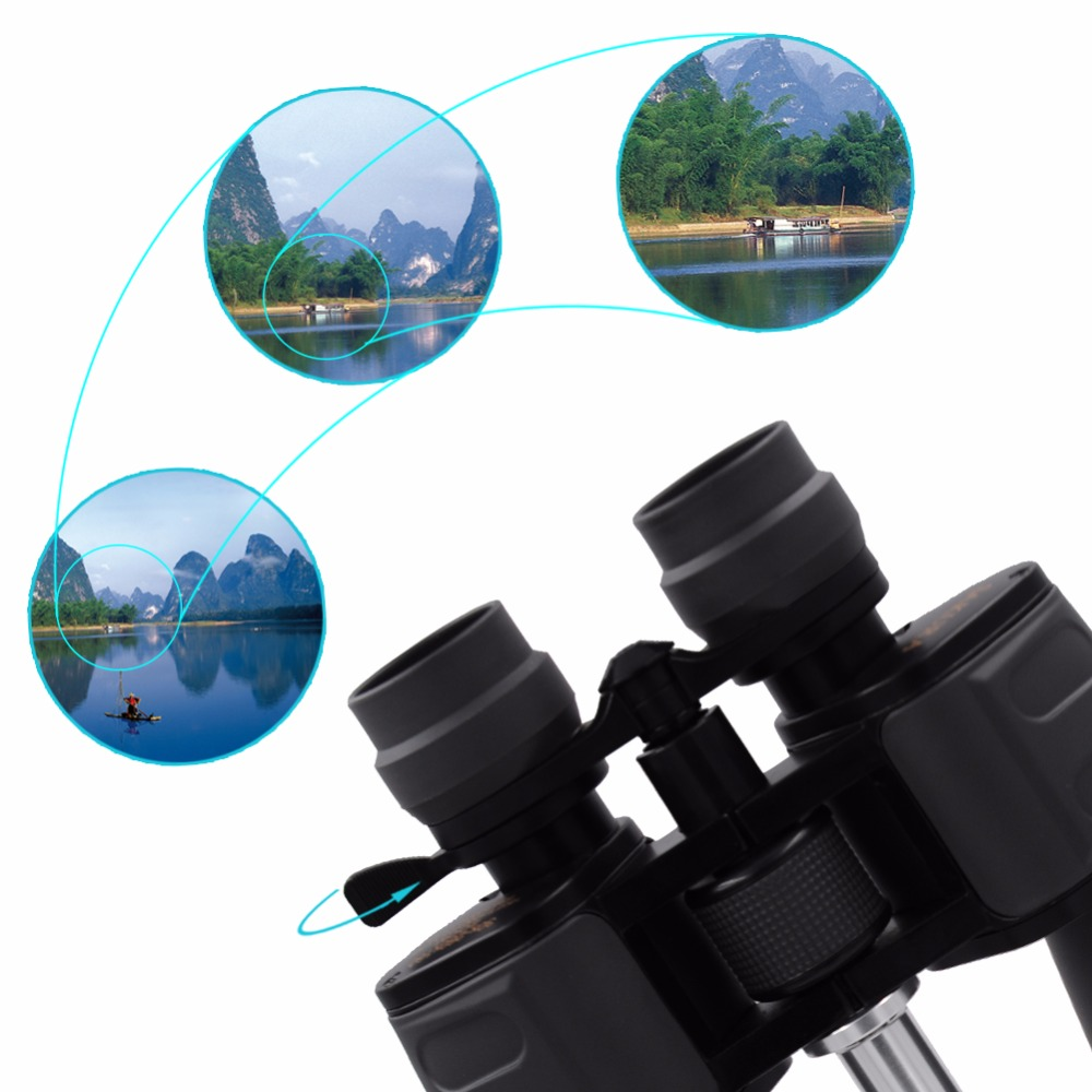 High Power Coated ZOOM 30-260X Zoomable Binoculars Night Vision Optics Telescope