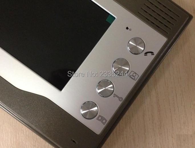 ZHUDELE 7 Video Indoor Monitor Home Door Bell Intercom Security Cam Access Control FRID Camera,video door phone waterproof 2v2
