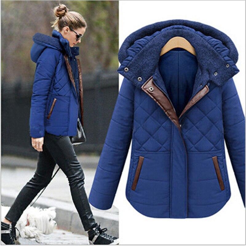 ФОТО Slim Fit Women Winter Warm Parkas Cotton Coat Thicken Women'S Winter Jackets And Coats Jaqueta Feminine Park A52476
