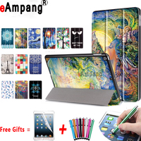 Premium PU Leather Cover For Apple IPad 9 7 Case Magnetic Smart Slim Painting Cover With