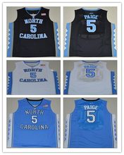 7e26cd123af Vintage North Carolina Tar Heels #5 Marcus Paige College Basketball Jerseys  embroidery(China)