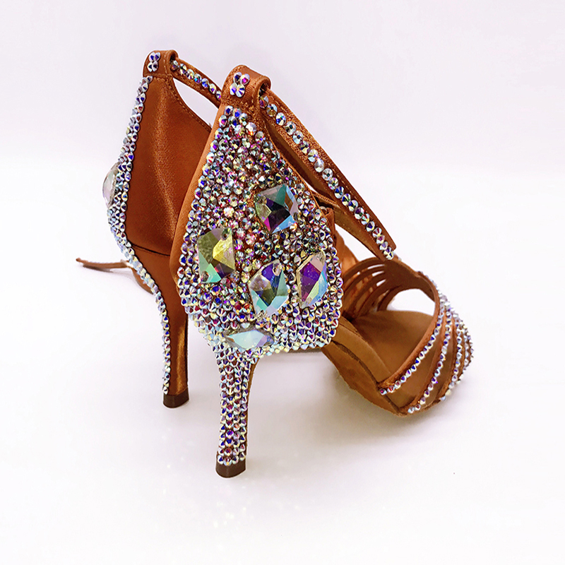 41316a8da6 US $67.07 48% OFF|Sneakers BD 311 Girls Latin Dance Shoes Soft Bottom Adult  Latin Shoes Diamond Shoe Add Drill Ballroom SALSA BLACK HEEL 4.5 CM -in ...