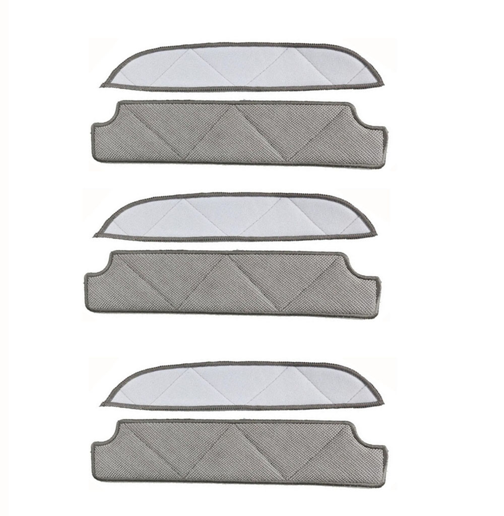 Microfiber Cleaning Pad For ECOVACS WINBOT WRN60 WRN70 TBW60TG TBW61 W710 W730 Washable & Reuable 3 Sets робот мойщик окон winbot w 710