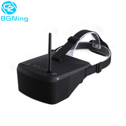 New Arrival EV800 5 Inches 800x480 FPV Video Goggles 5.8G 40CH Raceband Auto-Searching Build In Battery