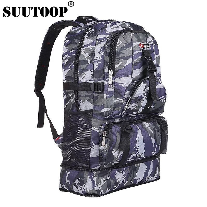 Mens Boys Military Rucksack//Camouflage Backpack Camping Hiking Travel School Bag