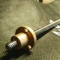Porca de cobre Pitch 4mm Mini CNC peças