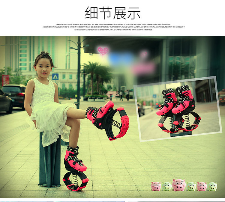 Bounce shoes jumping stilts toys for children with 2 In 1 Skate And Kangaroo fitness Exercise 20~70kg Running Shoes outdoor toy fuji fujifilm blc xpro2 оригинальный кожаный черный xpro2 применимо