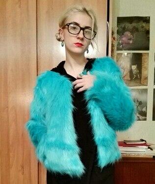 2017 New Winter Women Warm Faux Fur Coat Women Vintage Mink Fox Jacket 10 Colors Big Size S M L XL Fast Shipping