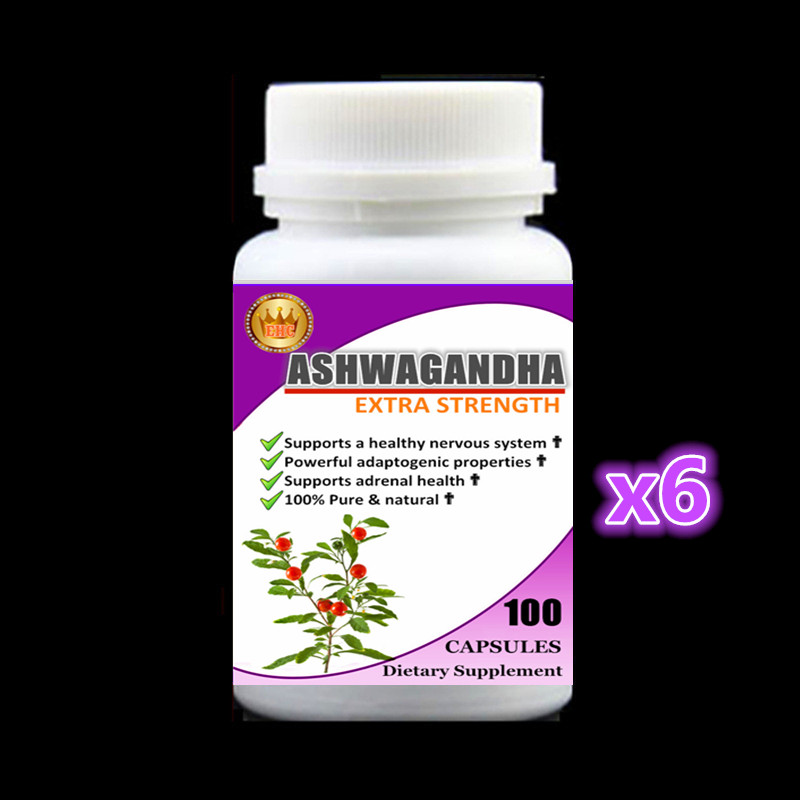 6 bottles  Ashwagandha Root  Powerful adaptogenic properties,Supports a healthy nervous system, free shipping and duty krishen kumar bamzai and vishal singh perovskite ceramics preparation characterization and properties
