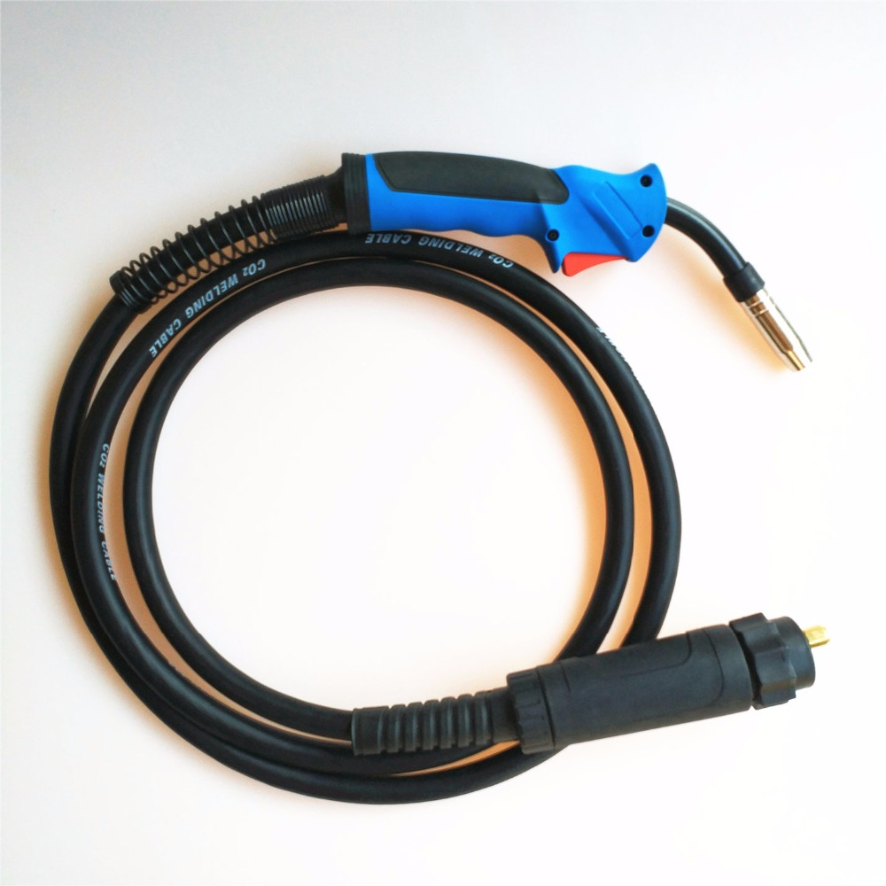 180A MB 15AK MIG Torch MAG Welding Gun 3M Air-cooled Euro Connector For MIG MAG Welding Machine
