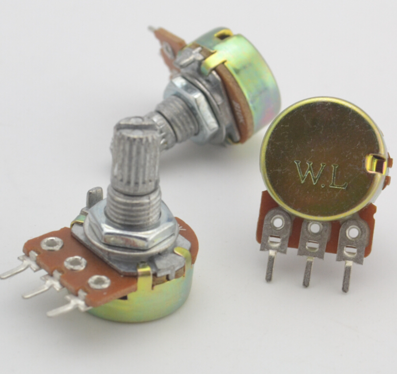 Lights & Lighting Lighting Accessories Original New 100% Import Dual Potentiometer Wh148-1b 1k 10k 20k 50k 100k 500k Wl switch