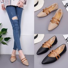 Brand Ksyoocur 2018 New Ladies Flat Shoes Casual Women Shoes Comfortable Pointed Toe Flat Shoes Spring/autumn Women Shoes 18-021