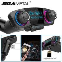 MP3 автомобиля Bluetooth плеер fm-передатчик Беспроводной Mp3 плеер Автомобильный комплект Музыка Радио 12 V 2USB 5 V 2.1A Авто Зарядное устройство модуля...