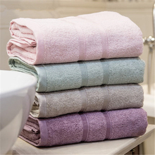 100%Bamboo fiber  bath towel men and women use a thickened adult