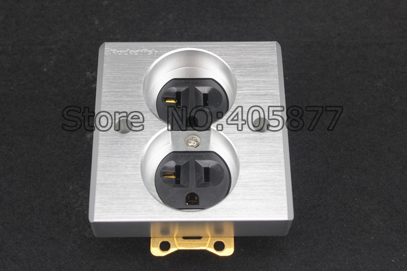 High Quality Gold Plated Power US AC Power Receptacle Wall Outlet ...