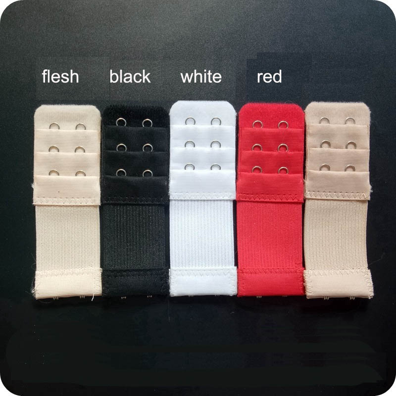 2 Pcs 2 Hook Bra Extender For Women 39 s Elastic Bra Extension Strap Hook Clip Expander Adjustable Belt Buckle Underwear in intimates 39 accessories from Underwear amp Sleepwears
