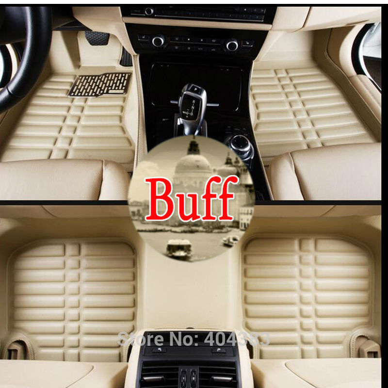 good quality car floor leather mats for Audi A1 A3 A4 A7 A6L Q3 Q5 3D car-styling heavy duty all weather carpet floor liner custom fit car floor mats for mitsubishi lancer asx pajero sport v93 3d car styling all weather carpet floor liner ry204