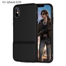 携帯電話シェル pubg のための iphone 6 プラス/7 プラス/8 プラス x/xs/xr/xs 最大 bluetooth 4.0 ゲームコントローラ電話カバーケース