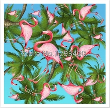 Crafts Diamond Embroidery Flamingo DIY Painting Cross Stitch Kits Square Rhinestone Home Decor Christmas Gift