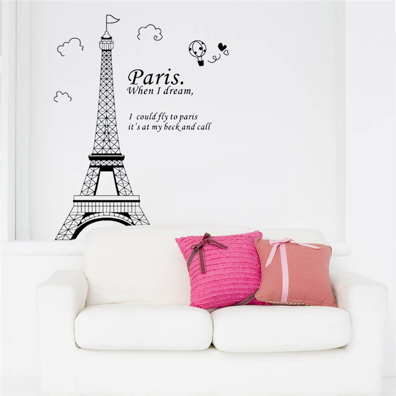 Paris Decals Wall Art online get cheap wall decals paris -aliexpress | alibaba group