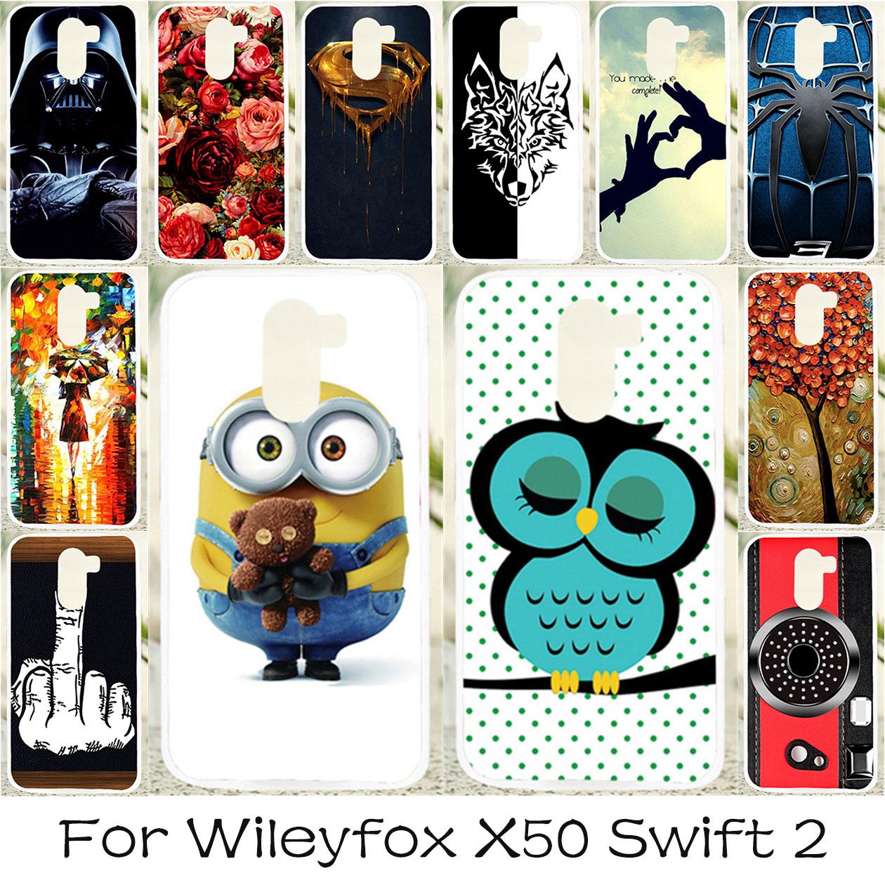 TAOYUNXI Soft TPU Phone Case For Wileyfox Swift 2 Cases . d06d2e493aac