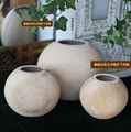 Sangyu original material crude wooden blanks can be hand-painted vases artistic retro zakka cukuang